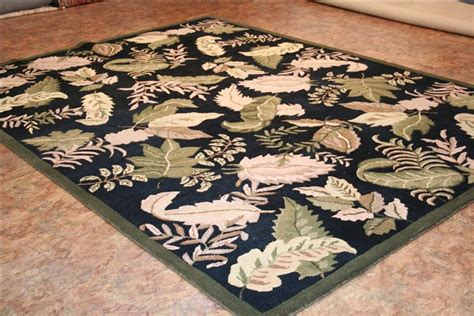 hand tufted black rug black rug