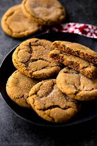 Seriously Soft Molasses Cookies - Sallys Baking Addiction