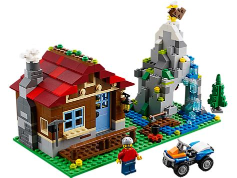 mountain hut lego shop