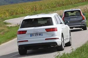 Audi 7 Places : essai comparatif audi q7 vs volvo xc90 le match des suv de luxe photo 46 l 39 argus ~ Gottalentnigeria.com Avis de Voitures