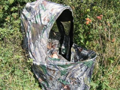 camo pop up hide tent chair blind shooting new ebay