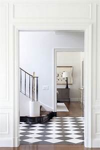 Checkered, Ceramic, Floor, Tile, In, The, Entryway, Foyer, Tile