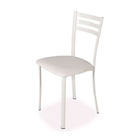 chaises de cuisine but chaise de cuisine en métal 1320 4 pieds tables
