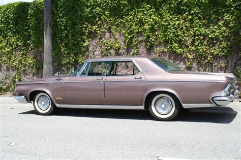 1964 Chrysler New Yorker 4 Door Hardtop