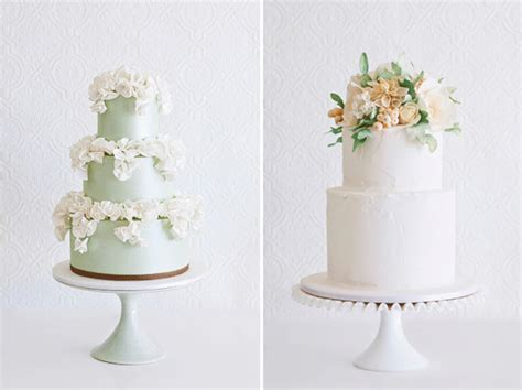 Spring & Summer Wedding Cakes From Faye Cahill