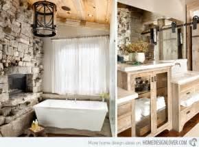 pictures of bathroom shower remodel ideas 15 bathroom designs of rustic elegance home design lover