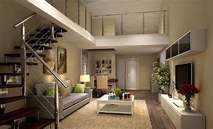 living room with stairs design peenmediacom With interior design for living room with stairs