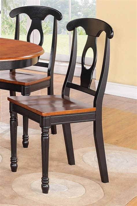 set   kitchen dining chairs  plain wood seat