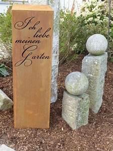 Deko Aus Holz Für Garten : holz s ule garten deko balken kantholz balken deko pinterest deko und garten ~ Sanjose-hotels-ca.com Haus und Dekorationen