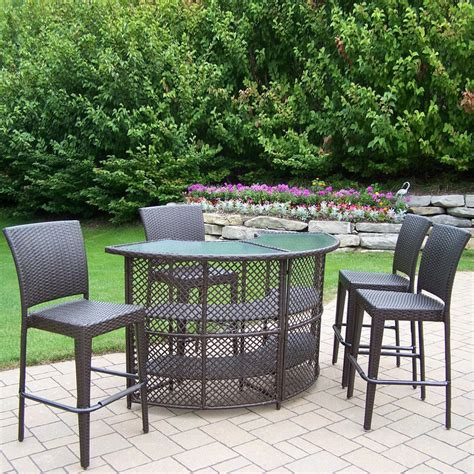 Home Depot Patio Furniture Hton Bay by High Patio Table Hton Bay Vichy Springs High Patio
