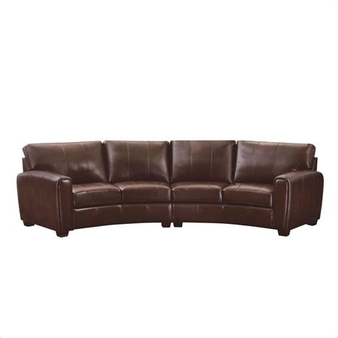 sectional sofa pieces sold separately coaster cornell 2 piece curved sofa sectional in brown