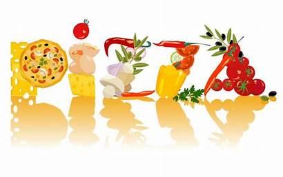 Pizza Clip Chefs Vettore Dibujos Pizzas Ristorante
