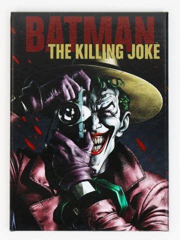 batman  killing joke  joker fridge magnet dc comics