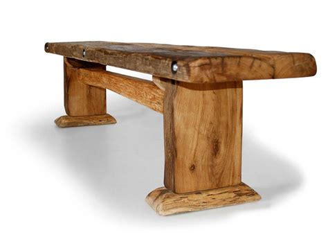 wikinger sitzbank massivholzsitzbank ohne rueckenlehne