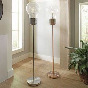 Edison light bulb floor lamp the green head for Giant retro floor lamp the range