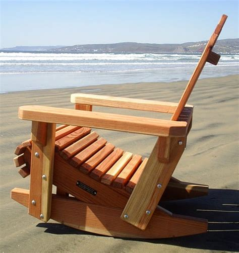 build adirondack rocking chair  woodworking