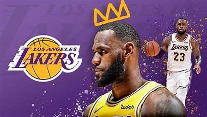 Lebron Lakers James Angeles Los Desktop Wallpapers