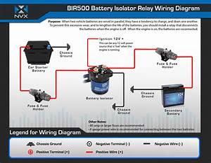 Nvx Bir500 500 Amp Relay Isolator  Bir500