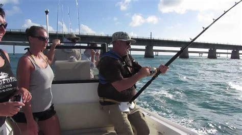 boat fishing shark florida keys attacks monster gt