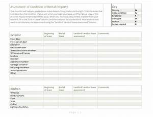 building inspection report template With rental property inspection checklist template