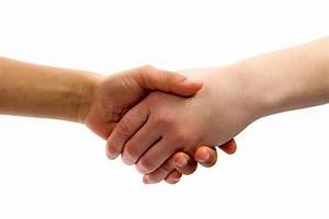 Kids handshake stock image. Image of gripping, human ...