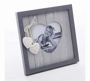 Cadre Bois 50x70 : cadre photo portrait coeur en bois wedestock 1392 ~ Teatrodelosmanantiales.com Idées de Décoration