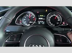 Audi RS5 speed limiter off top speed 327kmh YouTube
