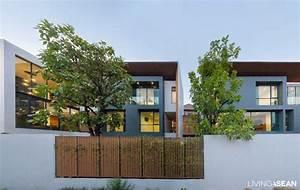 Twin Houses, Modern Thai Style /// Living ASEAN