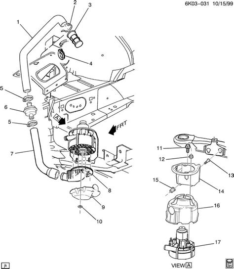 cadillac belt diagram