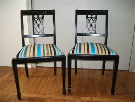 tapisser une chaise en tissu repeindre une chaise tous les messages sur repeindre une chaise quot c 244 t 233 si 232 ges tapissier 224