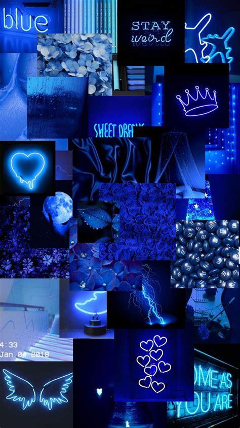 wallpapers edit blue aesthetic blackaesthetic