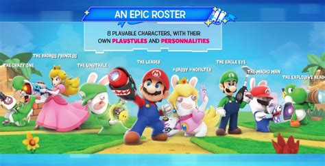 Star Wars Epic Pictures New Mario Rabbids Kingdom Battle Leaked Details Nintendo Everything