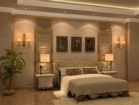 Classic Bedroom Design by Neo Classic Bedroom Design 3d Model