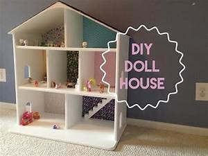 HOW TO BUILD A WOODEN DOLLHOUSE - YouTube