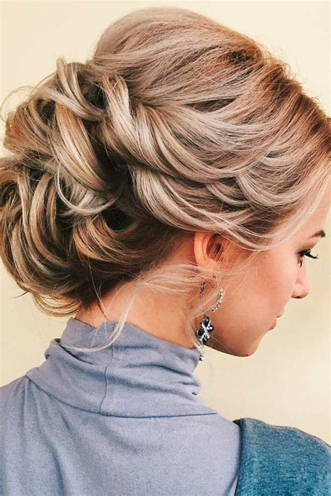 medium length updo ideas  pinterest