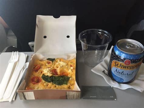 domactis cuisine coach potato qantas domestic economy class review