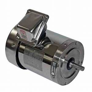 Sterling Sby054mca Stainless Steel Electric Motor 0 5 Hp