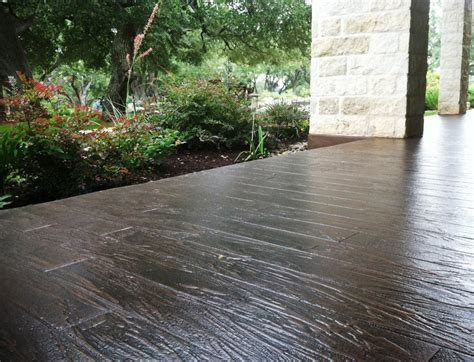 Bullion Coatings: View Houston Stamped Concrete Overlay