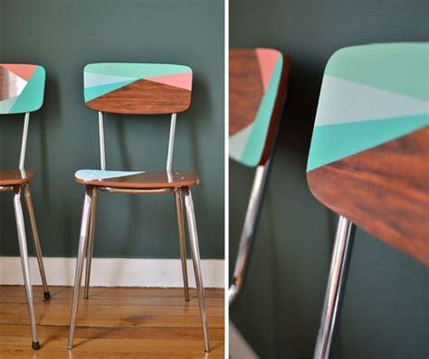 repeindre des chaises en plastique 1000 idées sur le thème peinture formica sur