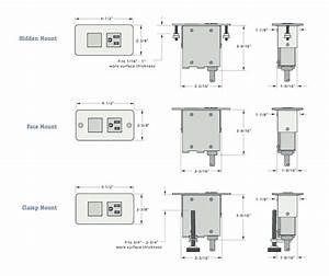 Work Surface Power Modules