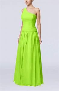 bright green elegant sheath zipper chiffon floor length With sheath dresses for wedding guest