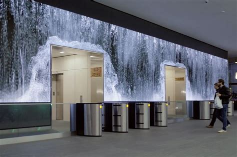 Check out this stunning 108 feet long video wall by