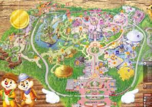 Hong Kong Disneyland Map
