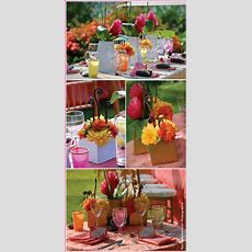Help! I Need Centerpiece Ideasbeachtropical Theme