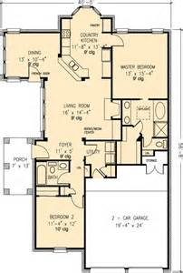 country house plan floor plan of country european house plan 90312