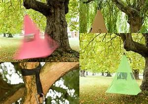 Accrocher Hamac Arbre : tipi hamac treepee une tente suspendue dans les arbres ~ Premium-room.com Idées de Décoration