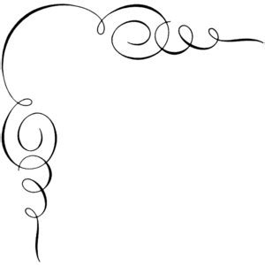 one 30 white gold script shape free frilly scroll cliparts free clip free