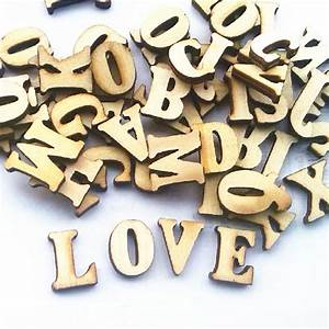 fashon english letters wedding wood crafts wooden letters With wooden craft letters and numbers