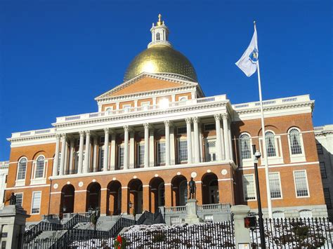 Boston House by Massachusetts State House