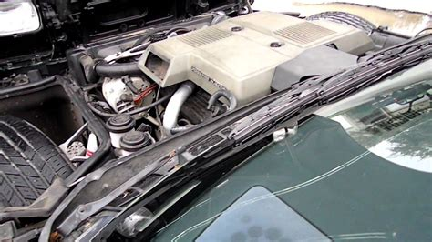 corvette  crossfire revving engine automatic black